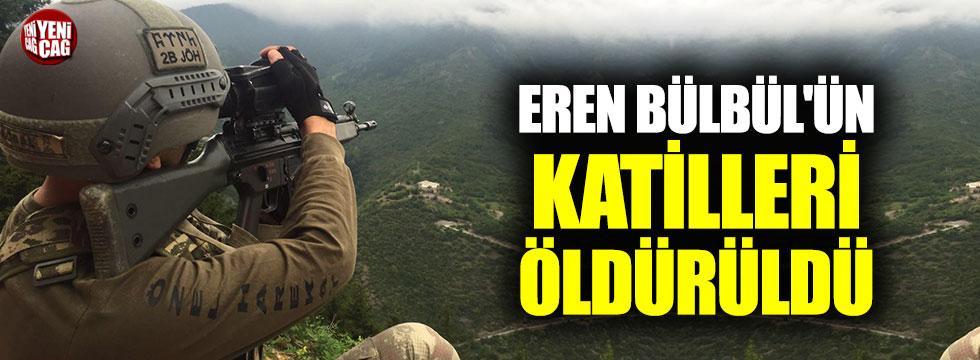 Eren Bülbül'ün katilleri öldürüldü