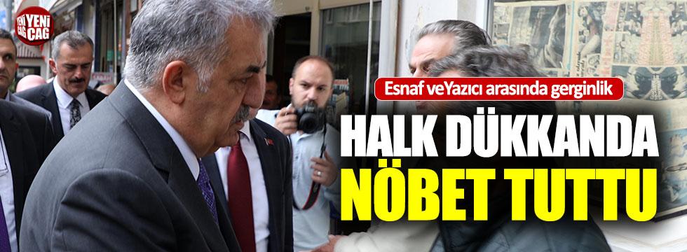 Esnaftan, AKP heyetine sert tepki