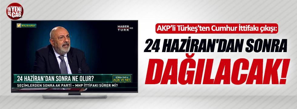 """Tuğrul Türkeş: """"Cumhur ittifakı dağılacak"""""""