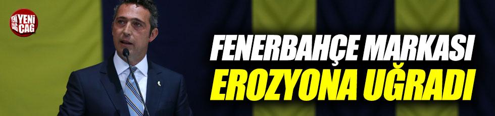 """Koç: """"Fenerbahçe markası erozyona uğradı"""""""