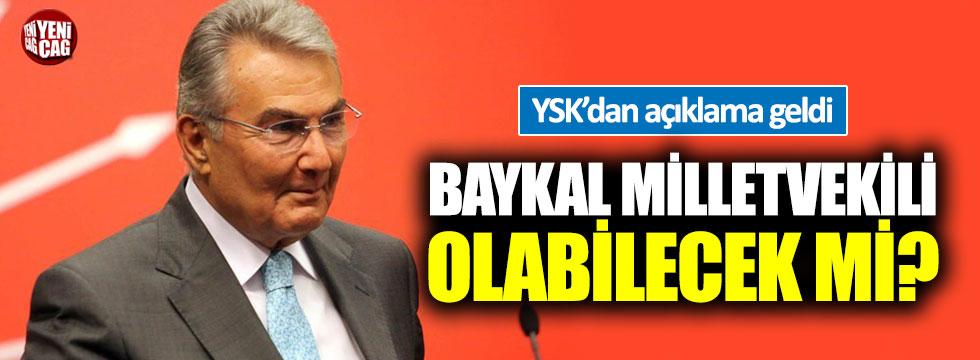 YSK'dan Baykal açıklaması
