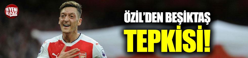 Özil'den Beşiktaş tepkisi