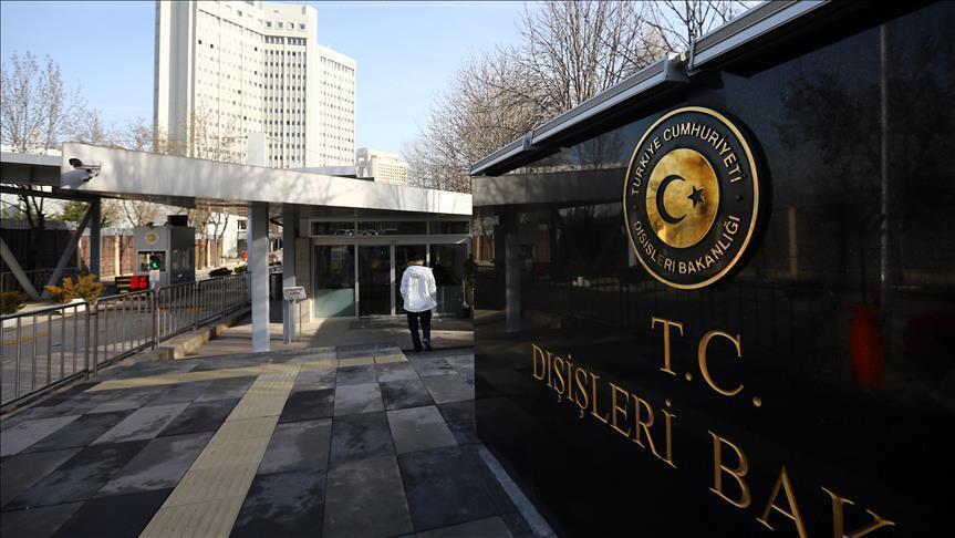 Dışişleri'nden Türkmen saldırısına kınama