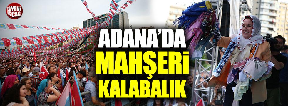 Meral Akşener Adana'da