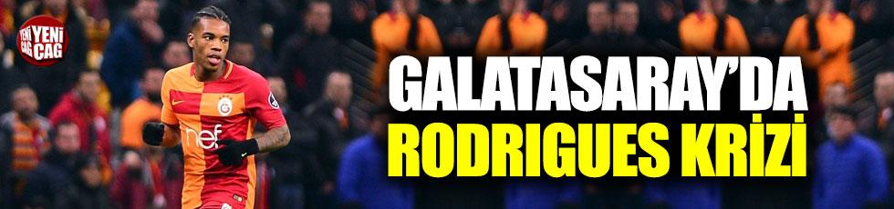 Galatasaray'da Rodrigues krizi!
