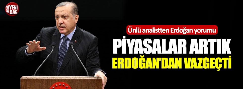 """""""Piyasalar artık Erdoğan'dan vazgeçti"""""""