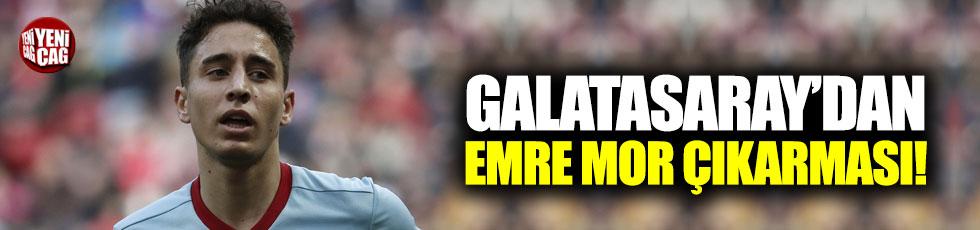 Galatasaray'dan Emre Mor çıkarması