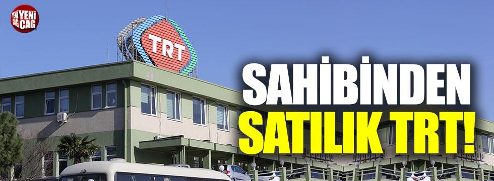 Sahibinden satılık TRT ilanı verdiler!