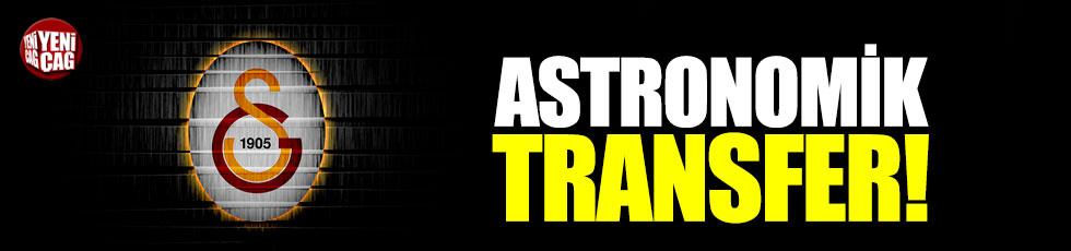 Galatasaray'dan astronomik transfer!