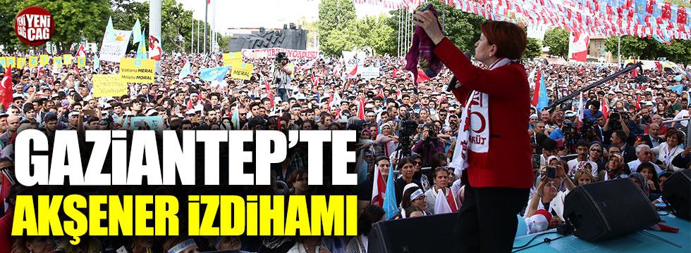 Gaziantep'te konuşan Akşener'den 'Suriyeli' açıklaması