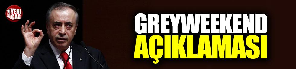 Cengiz'den Greyweekend açıklaması