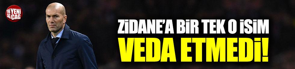 Gareth Bale, Zidane'a veda etmedi