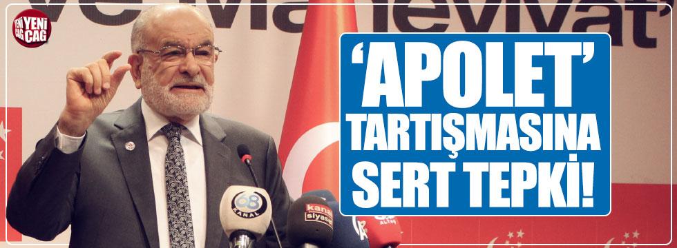 Karamollaoğlu'dan AKP'ye 'Apolet' tepkisi