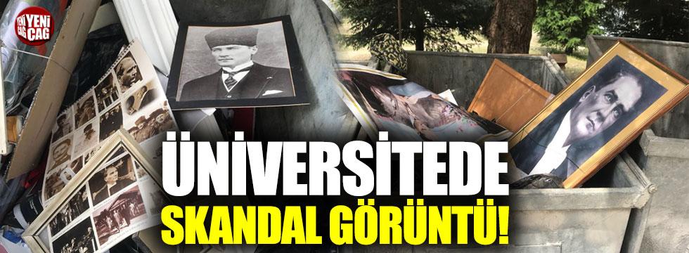 İTÜ'de skandal görüntüler