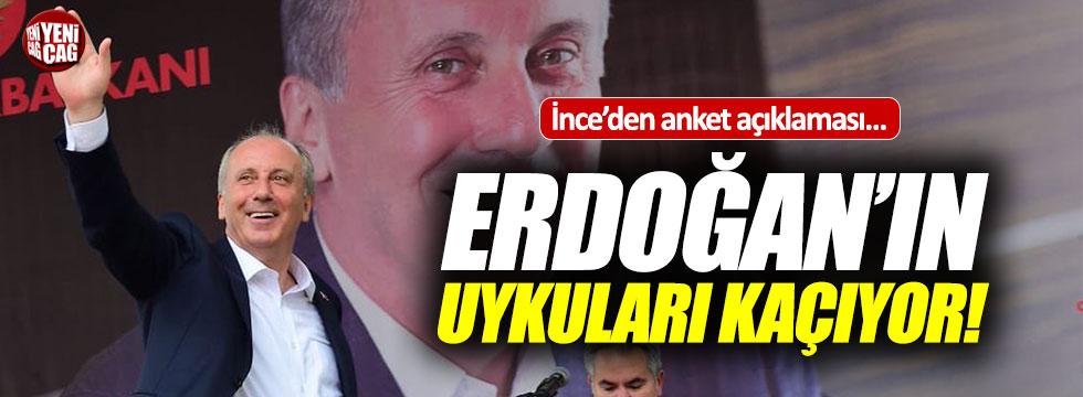 """İnce, """"Elimdeki anket Erdoğan'ın uykularını kaçırıyor"""""""