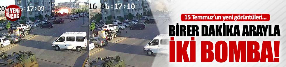 Külliye'nin bombalanmasından yeni görüntüler