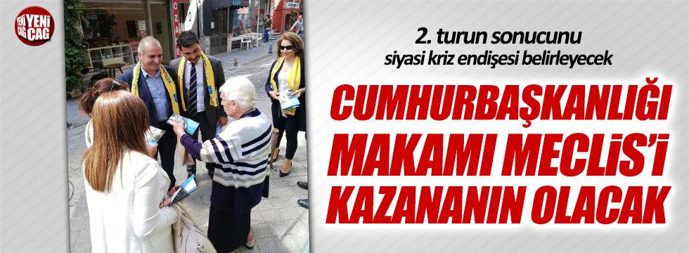 """Ahmet Çelik: """"Akşener 2. turda Cumhurbaşkanı olacak"""""""