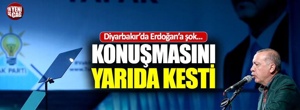 Erdoğan'ın konuşmasında prompter krizi