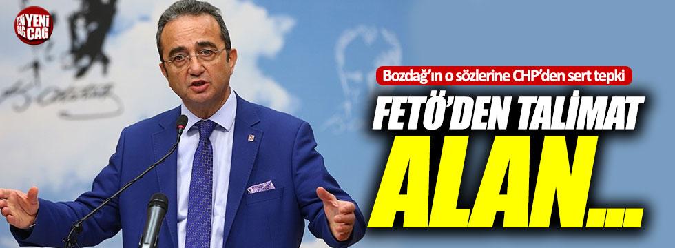 Bozdağ'ın o sözlerine CHP'den sert tepki!