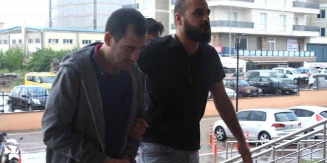 O hakim Yunanistan'a kaçarken yakalandı