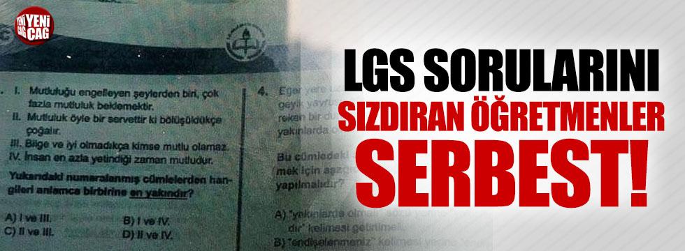 LGS'de soruları soruları sızdıran 3 öğretmene gözaltı