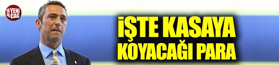 Ali Koç Fenerbahçe'nin kasasına kaç para koyacak?