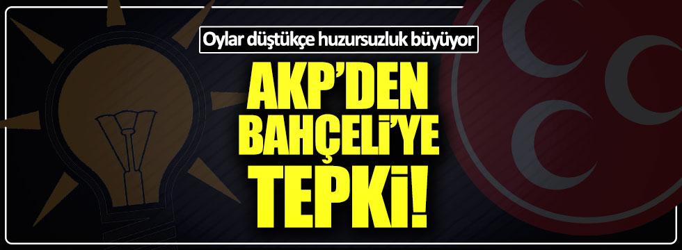 AKP'den Bahçeli'ye tepki
