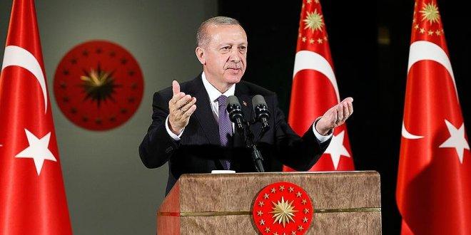 Erdoğan emeklilerle iftar yaptı