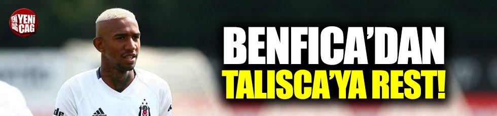 Benfica'dan Talisca'ya rest!