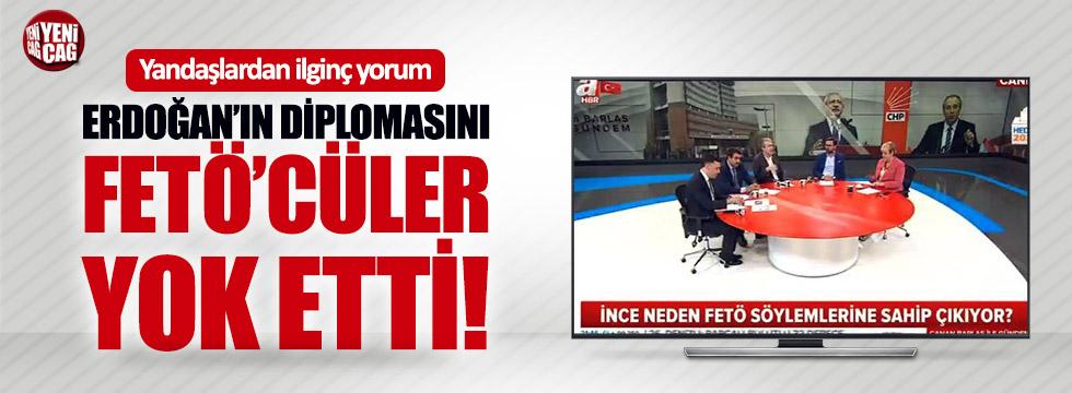 """""""Erdoğan'ın diplomasını FETÖ'cüler yok etti"""""""