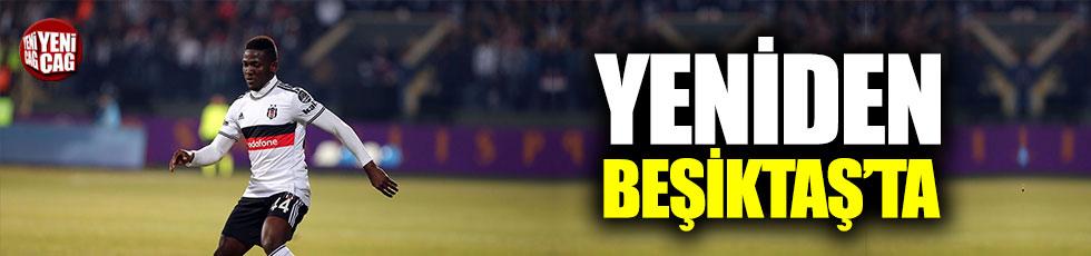 Yeniden Beşiktaş'ta!