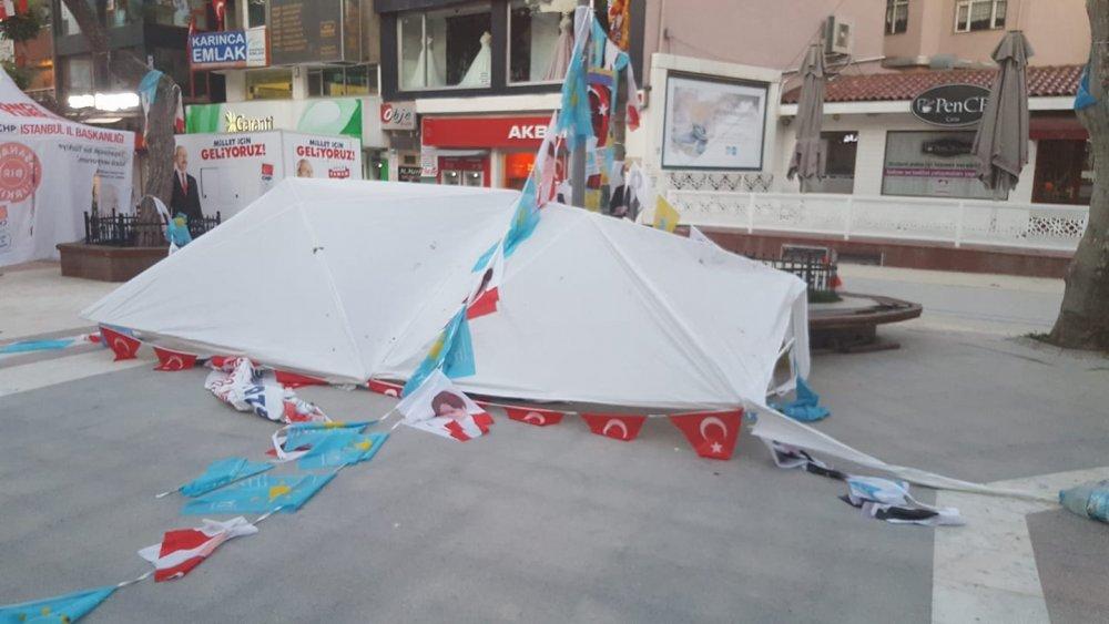 İYİ Parti saldırıları protesto etti