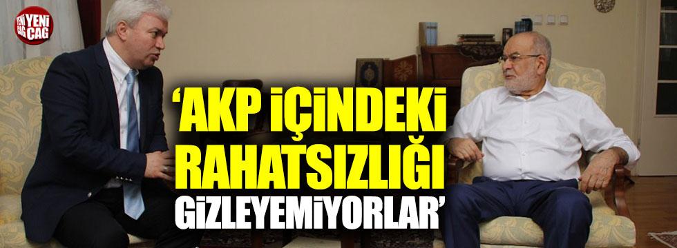 Karamollaoğlu: AKP içindeki rahatsızlığı gizleyemiyorlar