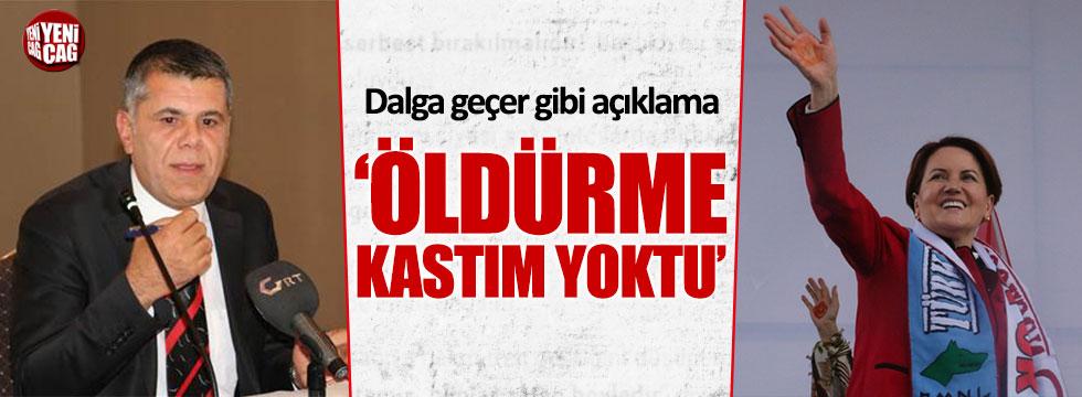Akşener'i tehdit eden Gaziantepspor Başkanı'ndan dalga geçer gibi savunma
