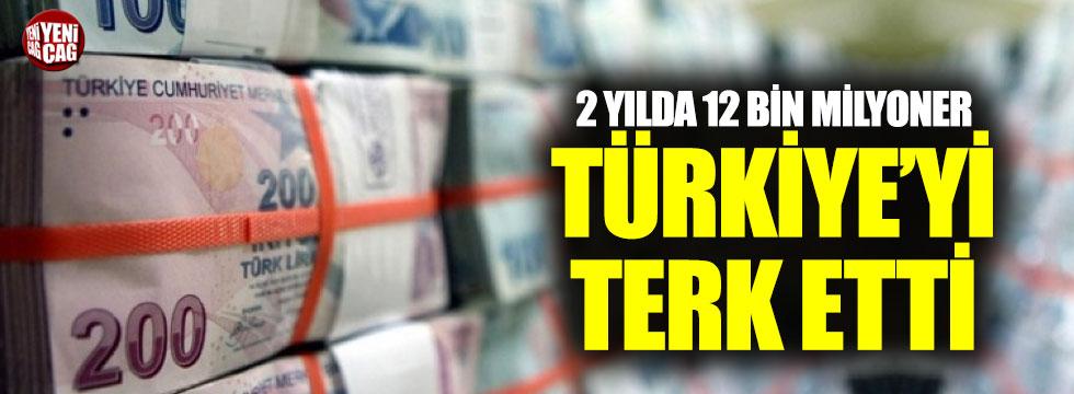 2 yılda 12 bin milyoner Türkiye'yi terk etti