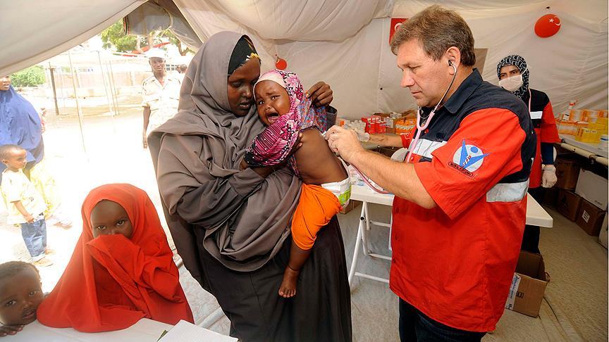 Türkiye'den Somali'ye aşı hibesi