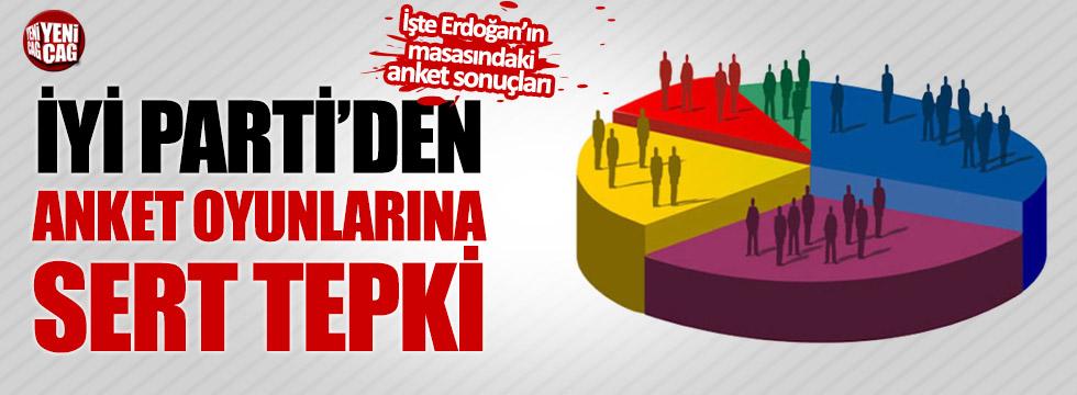 İYİ Parti'den anket oyunlarına sert tepki