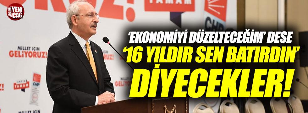 Kılıçdaroğlu'ndan Erdoğan'a ekonomi tepkisi