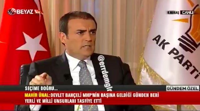 """AKP'li Ünal: """"Akşener yerli ve milli olduğu için MHP'den tasfiye edildi"""""""