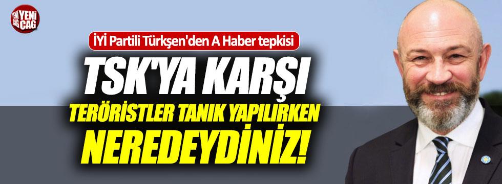 Türkşen'den A Haber tepkisi