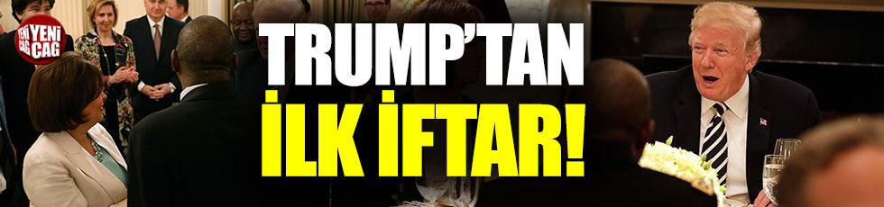 Trump'tan Beyaz Saray'da iftar