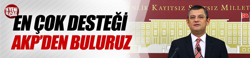 """""""En Çok Desteği AKP'den Buluruz"""""""