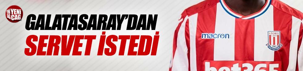 Ndiaye Galatasaray'dan servet istedi