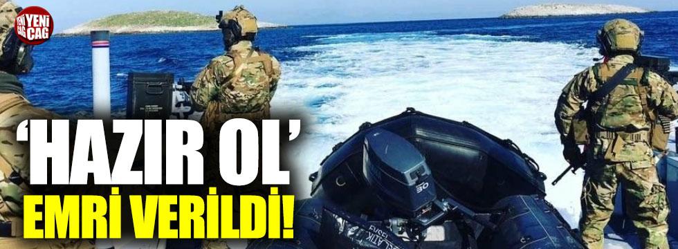 """Deniz kuvvetlerine """"Hazır ol"""" emri"""