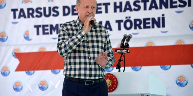 """Erdoğan: """"Bu millet sizi mezara gömer"""""""