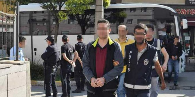 Bin 800 kişi yakalandı 181 kişi tutuklandı