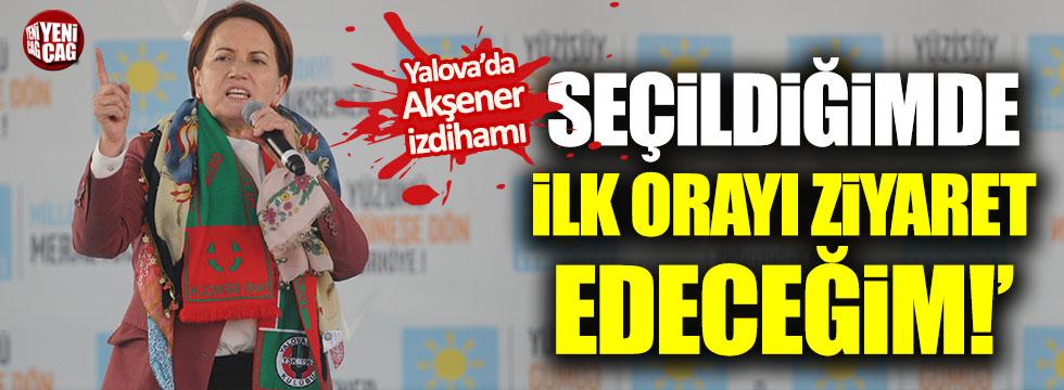 """Meral Akşener: """"İlk ziyaretim 18 adaya"""""""