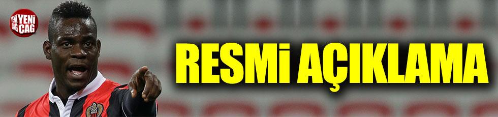Galatasaray'dan Balotelli ile ilgili resmi açıklama