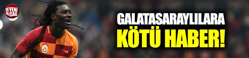 Galatasaraylılara kötü haber!
