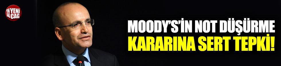Şimşek'ten Moody's'in kararına sert tepki
